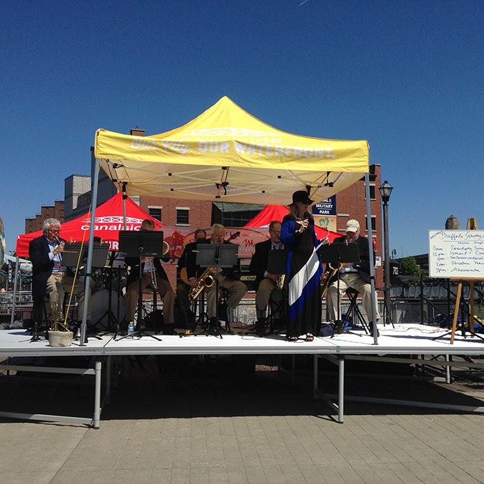 Canalside Buffalo for Saturday Artisan Market Memorial Weekend Opening Celebration 2015
